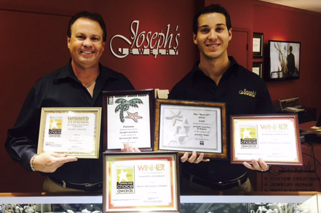 certifications for Expert Fine Jewelry and Watch Repair Joseph's Jewelry in Stuart, FL, jewelers near me