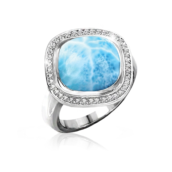 Marahlago Clarity Cushion Ring