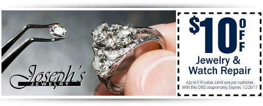 Print or save as your Jewelry Repair Coupon