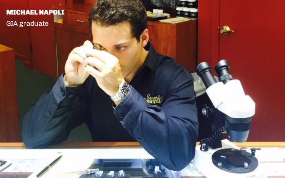 Joseph's Jewelry Repair Store Services - Graduate of GIA in Diamonds and Diamonds Grading