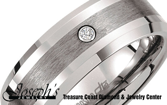 Contemporary Wedding Bands: Tungsten Jewelry