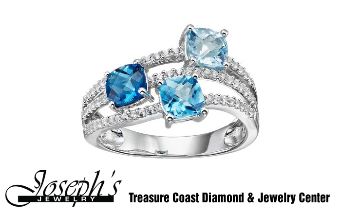 December Birthstone: Blue Topaz Jewelry
