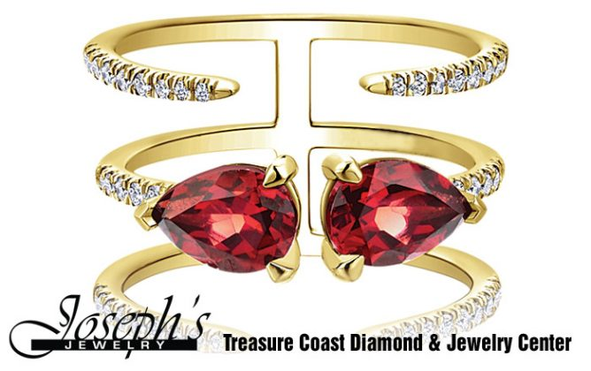 Classic Jewelry, Fine Jewelry, Rose Jewelry , Yellow Jewelry, White Jewelry, Custom Jewelry, Metal Jewelry, Josephs Jewelry, Jewelry Of Stuart, Treasure Coast Diamond And Jewelry Center, Engagement Rings , Where The Treasure Coast Gets Engaged, Fashion Jewelry, Jewelry Repair, Diamond Education, Gold Buying, Time pieces, Wedding Bands, July Birthstone, Ruby