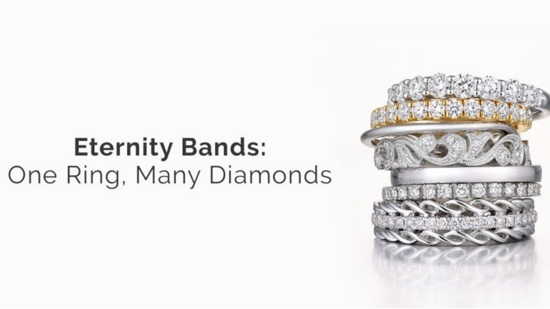 Eternity Bands, One Ring, Many Diamonds