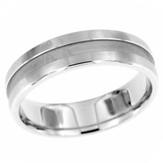 14 KT White Gold Men's Wedding Band by Endless Designs. Timeless design. Available in 5 – 8mm. Customization options are available.